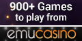 Emu Casino has recently been revamped and now offers loads of casino games